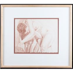 Original Philip Pearlstein Nude Women Lithograph