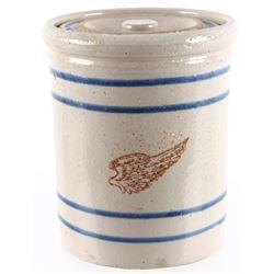 Red Wing Union Stoneware Ceramic Mini Crock