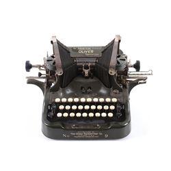 Oliver No. 9 Standard Visible Typewriter C. 1915