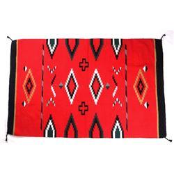 Navajo Teec Nos Pos Style Pattern Large Wool Rug