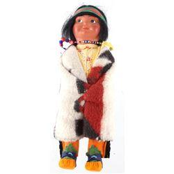 1939 Original Skookum Beaded Indian Doll