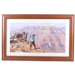 Hole in One Framed Print by Russell Houston