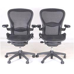Herman Miller Aeron Office Chair Pair