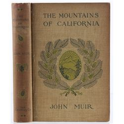 The Mountains of California by John Muir 1904