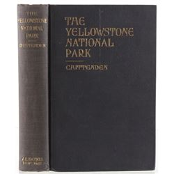 1924 The Yellowstone National Park By Chittenden