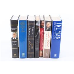 Collection of Seven Modern Presidential Books