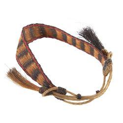 Northern Plains Braided Horsehair Arm Cuff 1800's