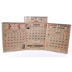 Montana Druggist Weather Chart Calendar 1926/40/42