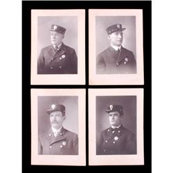 Missoula Montana Fireman Cabinet Card Collection
