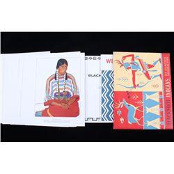 1958 Great Northern Railway Blackfoot Indian Folio