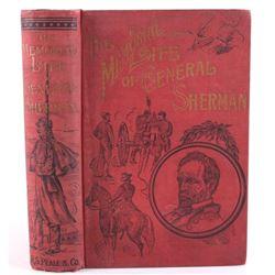 1891 1st Ed The Memorial Life of General Sherman