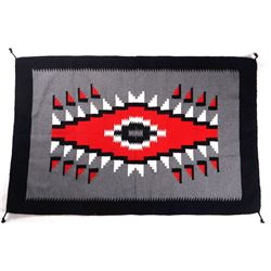 Navajo Style Two Grey Hills Large Wool Rug