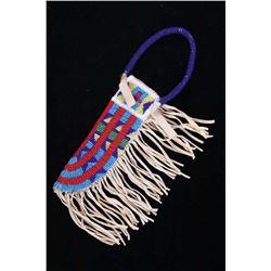 Lakota Sioux Fully Beaded Knife Sheath
