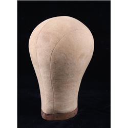 Antique Cloth Mannequin Head Hat Display