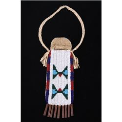 Lakota Sioux Fully Beaded Strike-A-Lite Bag