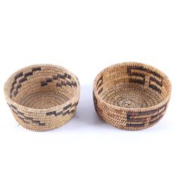 Navajo Hand Woven Coil Baskets