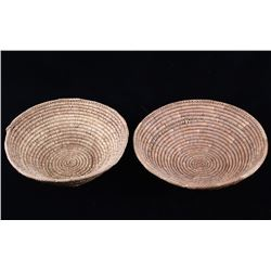Papago American Indian Hand Woven Baskets
