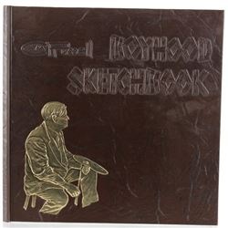 1972 1st Edition C.M. Russell Boyhood Sketchbook