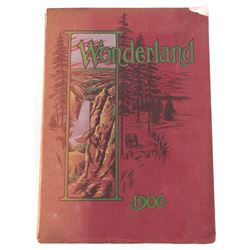 1906 Northern Pacific Yellowstone Wonderland Album