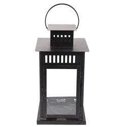Modern Steel Hanging Candle Decorative Lantern