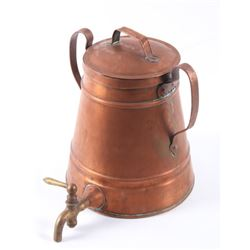 Somerville Copper Water Vessel Dispenser with Lid