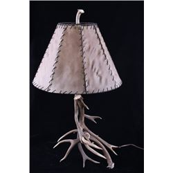 Montana Deer Antler Shed Table Lamp