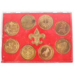 Commemorative Boy Scout National Jamboree Coins