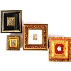 Renaissance Style Framed Art Miniatures