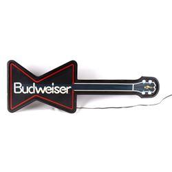 Budweiser Lighted Guitar Bar Light c.1988