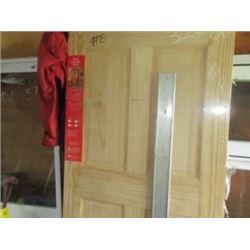 """OAK DOOR (32"""" X 8"""")"""