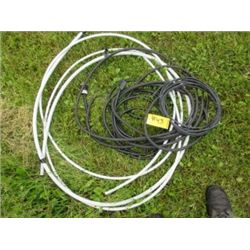 WHITE HOSE, EXTENSION CORDS