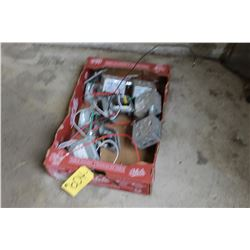 BOX WITH ELECTRICAL TOOLS