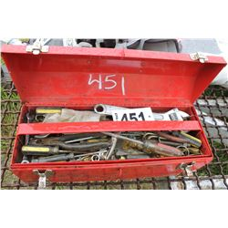 RED TOOLBOX & TOOLS