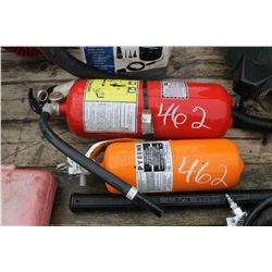 2 FIRE EXTINGUISHERS