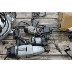ELECTRIC IMPACT, DRILLS - 3 PIECES