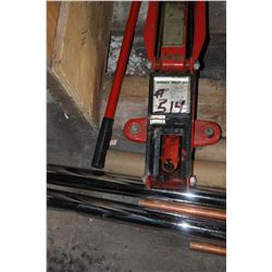 HYDRAULIC TROLLEY JACK & HANDLE