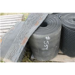 "ROLL OF 22"" WIDE RUBBER"