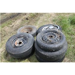 APPROX. 7 ASSORTED TIRES