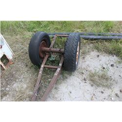AUGER AXLE/DOLLY