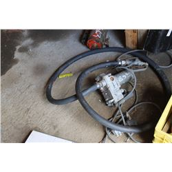 FUEL PUMP & HOSE