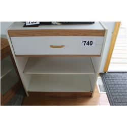 SMALL SHELF WITH DRAWER