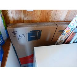 APPROX. 6 LARGE PACKING BOXES
