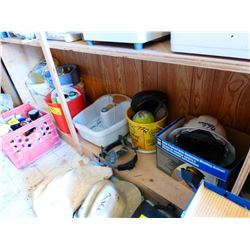 FOOT SPA, HARD HAT, CLEANERS, PAILS, ETC