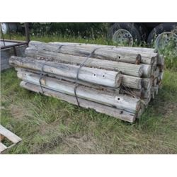 PILE OF POSTS