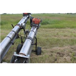 "CONVEYALL ELECTRIC BELT AUGER (APPROX 10"")"