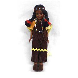 Cherokee Tourist Native American Doll