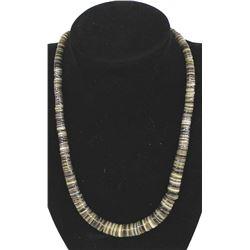 Native American Navajo Shell Heishi Necklace