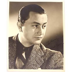 Autographed Bob Young Black and White Photograph