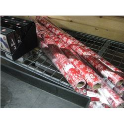 SET OF 8 CHRISTMAS WRAPPING PAPER