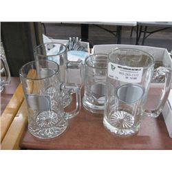 SET OF 3 BEER MUGS